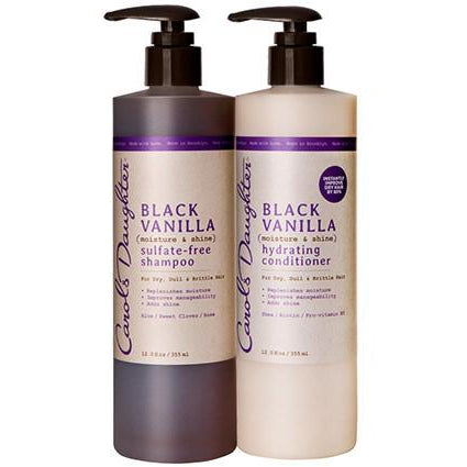 Carol's Daughter Black Vanilla Moisturizing Hair Duo - Go Natural 24/7, LLC