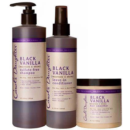 Carol's Daughter Black Vanilla Moisturizing Hair Trio Set - Go Natural 24/7, LLC