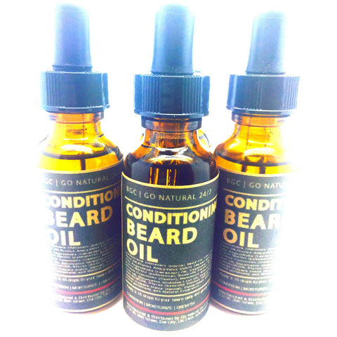 Beauty Gate Conditioning Beard Oil - Go Natural 24/7, LLC