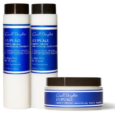 Carol's Daughter Cupuaçu Anti-Frizz Smoothing Trio - Go Natural 24/7, LLC