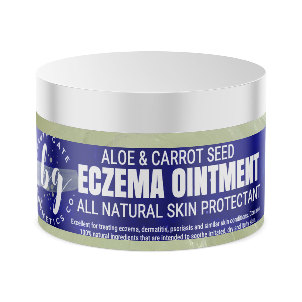 Beauty Gate Aloe and Carrot Seed Eczema Ointment - Go Natural 24/7, LLC