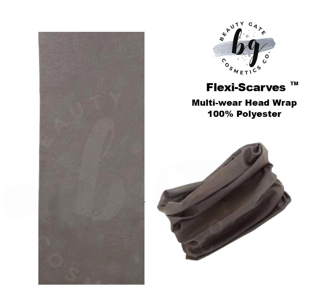 Locs Protected Flexi-Scarves™ Dk Gray
