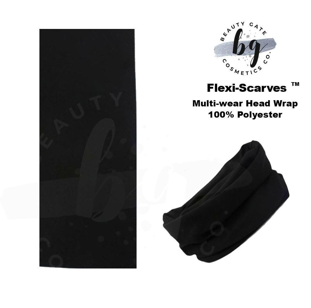 Locs Protected Flexi-Scarves™ Noir