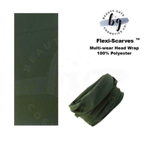 Locs Protected Flexi-Scarves™ Dk Green