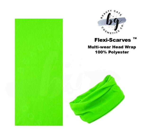 Locs Protected Flexi-Scarves™ Fl. Green