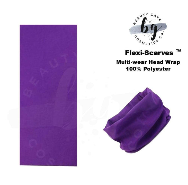 Locs Protected Flexi-Scarves™ Purple