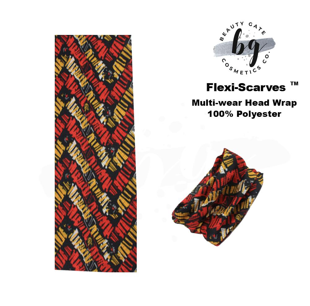 Locs Protected Flexi-Scarves™ Imani Red