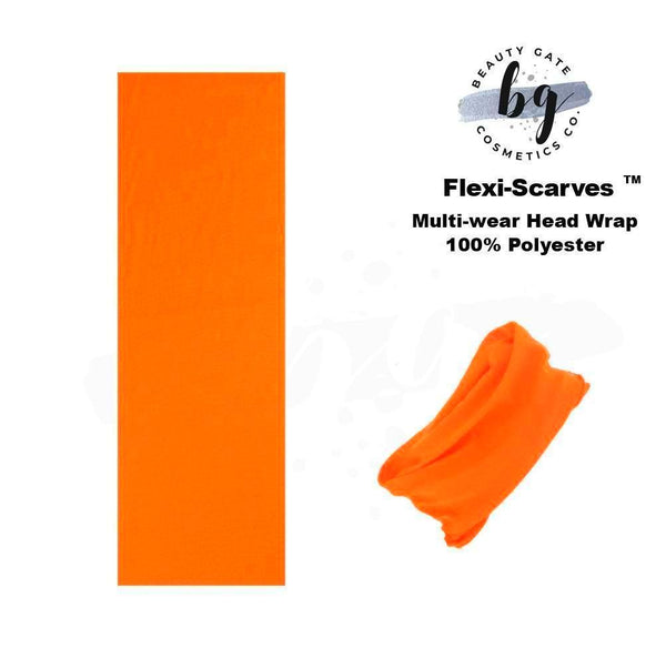 Locs Protected Flexi-Scarves™ Orange