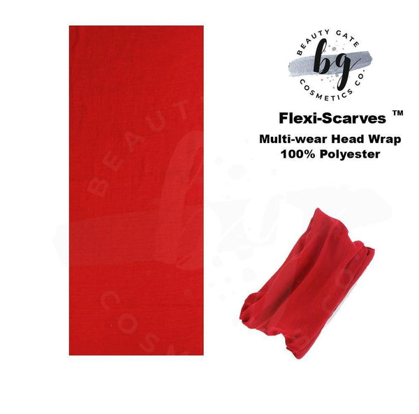 Locs Protected Flexi-Scarves™ Red