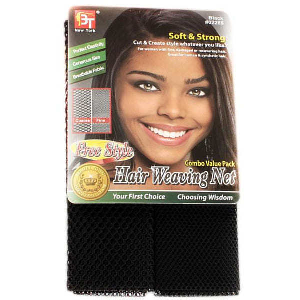 Beauty Town Free Style Hair Weaving Net - Go Natural 24/7, LLC