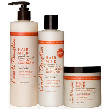 Carol's Daughter Hair Milk Moisture Curl Set - Go Natural 24/7, LLC
