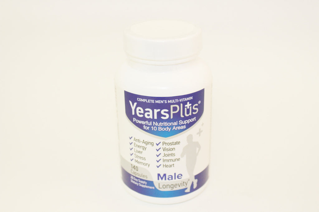 Century Systems Years Plus Men's Multi-vitamin (Formerly Vitarol) - Go Natural 24/7, LLC