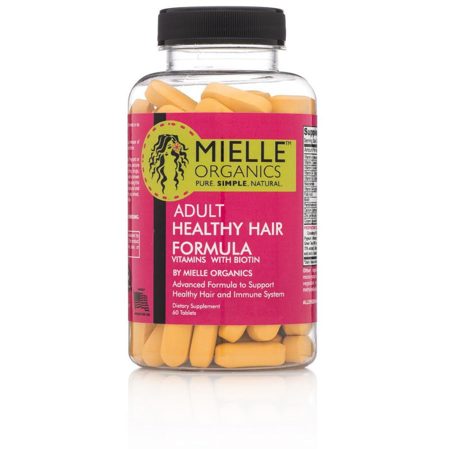 Mielle Organics Adult Health Hair Formula - Go Natural 24/7, LLC