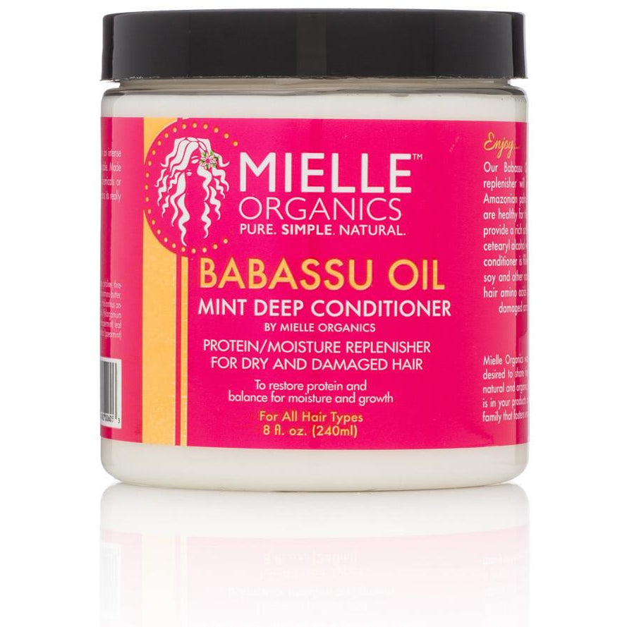 Mielle Organics Babassu Oil Mint Deep Conditioner - Go Natural 24/7, LLC