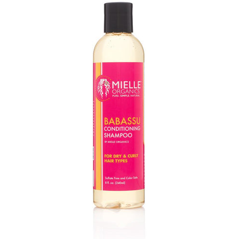 Mielle Organics Babassu Oil Conditioning Sulfate-Free Shampoo - Go Natural 24/7, LLC