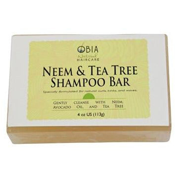 OBIA Neem & Tea Tree Shampoo Bar - Go Natural 24/7, LLC