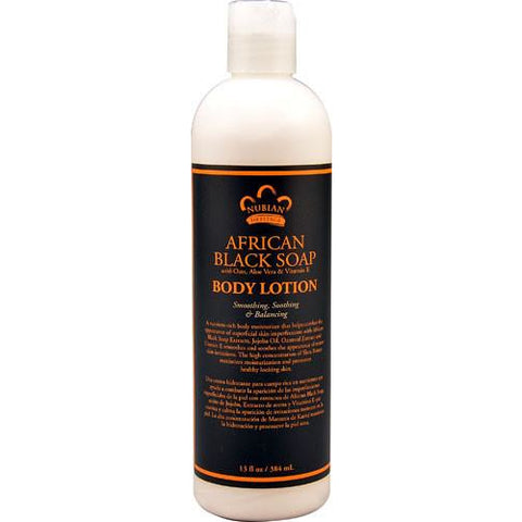 Nubian Heritage African Black Soap Body Lotion - Go Natural 24/7, LLC