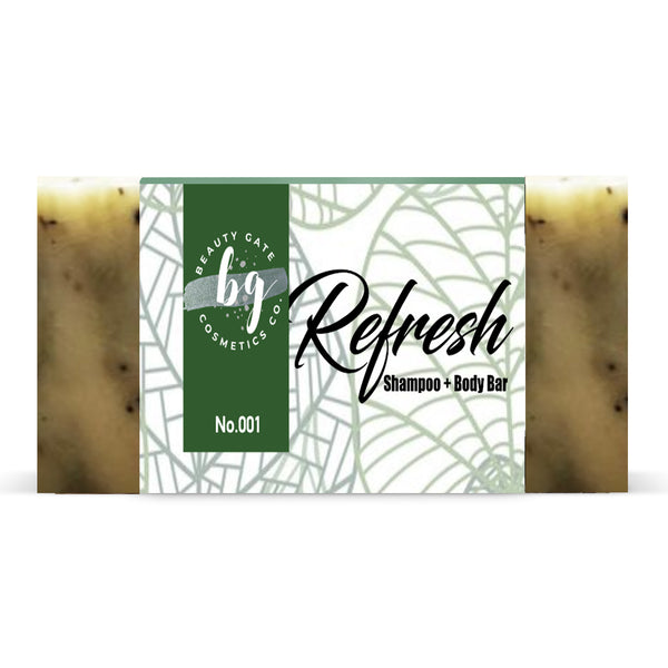 Beauty Gate Refresh Shampoo + Body Bar No. 001 - Go Natural 24/7, LLC