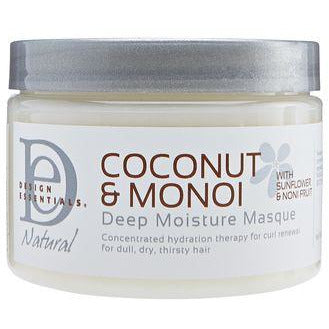Design Essentials Natural Coconut & Monoi Deep Moisture Masque - Go Natural 24/7, LLC