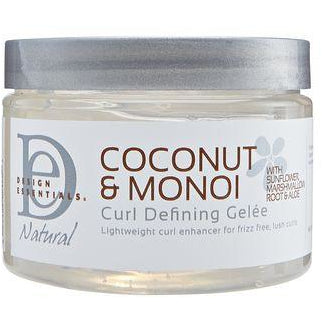 Design Essentials Natural Coconut & Monoi Curl Defining Gelee - Go Natural 24/7, LLC
