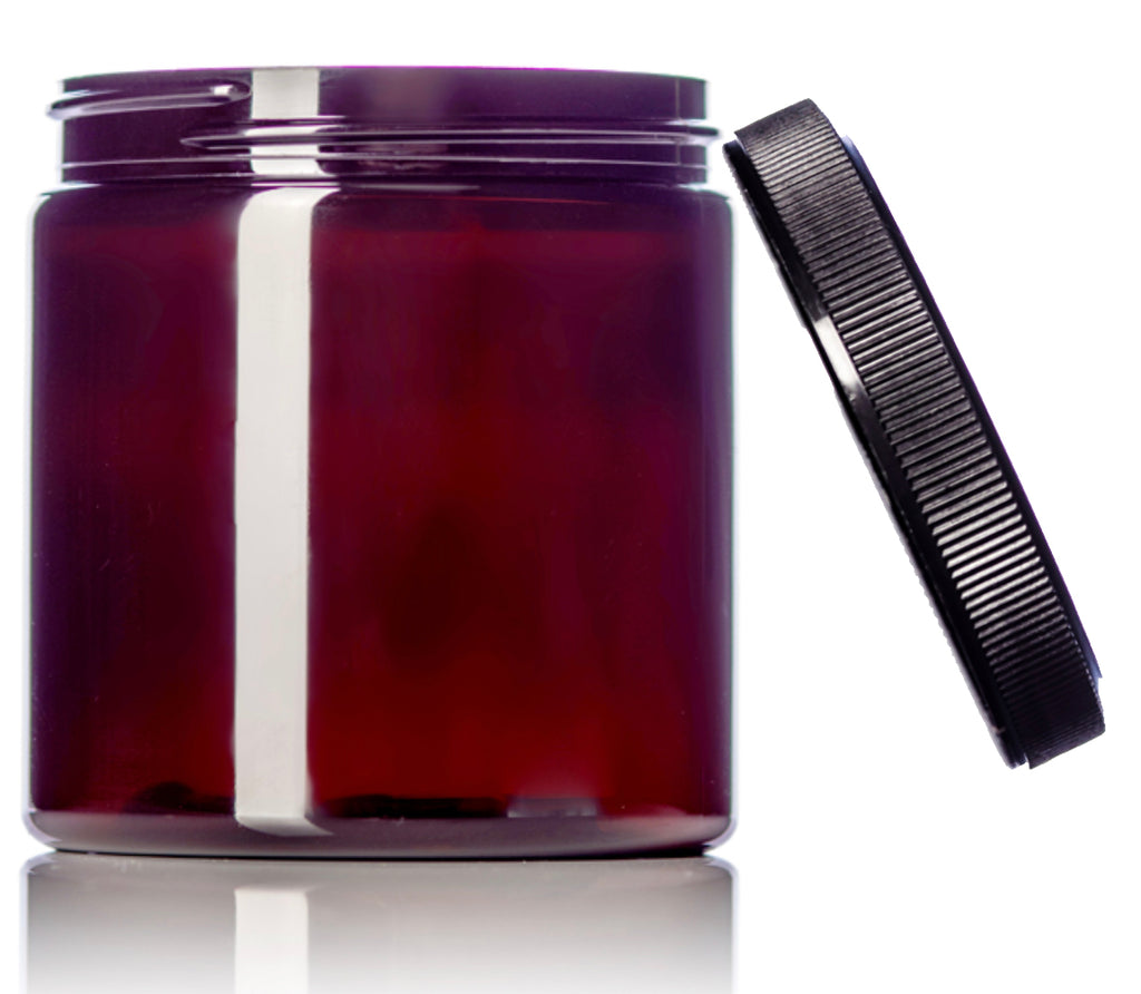 Go Natural 24/7 - 8 oz Amber Jar