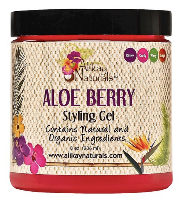 Alikay Naturals Aloe Berry Styling Gel - Go Natural 24/7, LLC