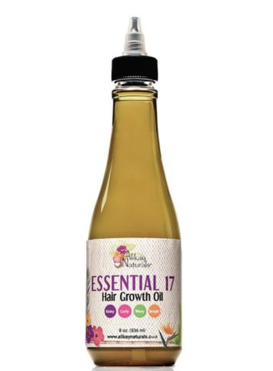 Alikay Naturals Essential 17 Hair Growth Oil - Go Natural 24/7, LLC