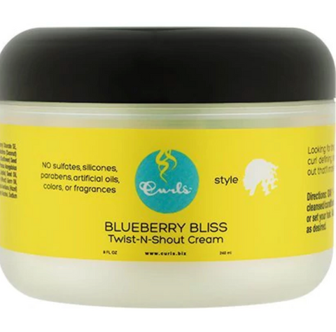 Curls Blueberry Bliss Twist N Shout Cream - Go Natural 24/7, LLC