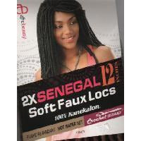 Afrobeauty Senegal Soft Faux Locs 16""