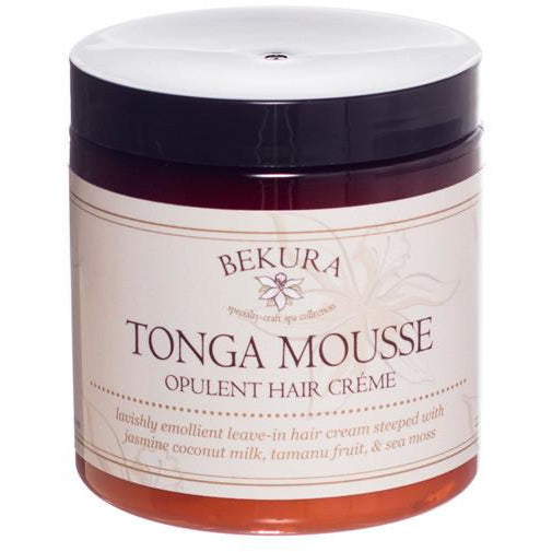 Bekura Beauty Tonga Mousse Opulent Hair Creme - Go Natural 24/7, LLC