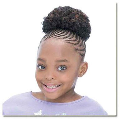 "FreeTress Draw String Ponytail -Afro for Kids 4"" - Go Natural 24/7, LLC"