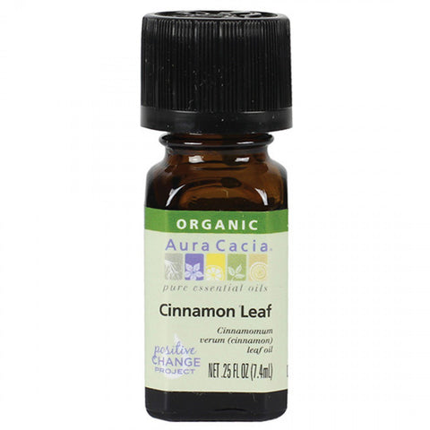 Aura Cacia Cinnamon Leaf Organic Essential Oil