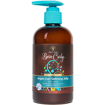 As I Am Born Curly Argan Curl Defining Jelly - Go Natural 24/7, LLC