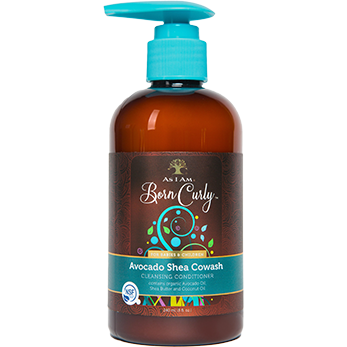 As I Am Born Curly Avocado Shea Cowash - Go Natural 24/7, LLC