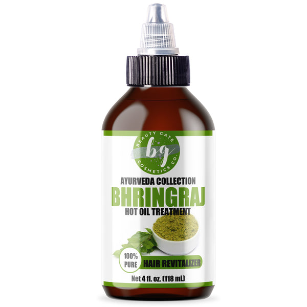 Beauty Gate Bhringraj Hot Oil Treatment (Ayurveda Collection) - Go Natural 24/7, LLC