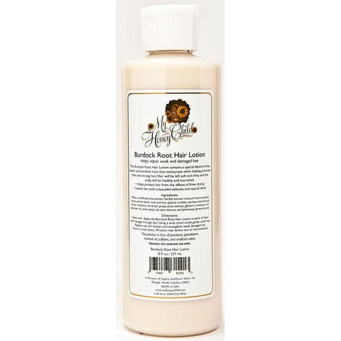 My Honey Child Burdock Root Hair Lotion (8 oz) - Go Natural 24/7, LLC