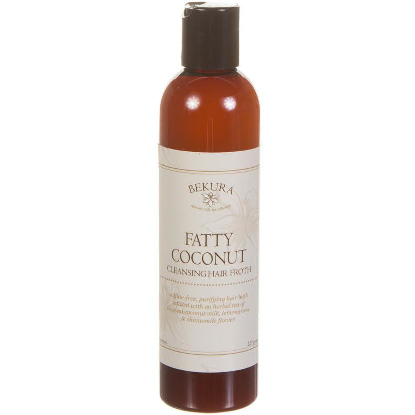 Bekura Beauty Fatty Coconut Cleansing Hair Froth - Go Natural 24/7, LLC