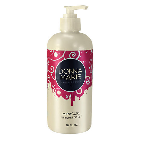 Donna Marie Miracurl Curling Gelly 18 oz - Go Natural 24/7, LLC