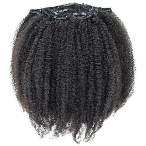 Texture Dolls™ 100% Human Hair 4a/b Tightly Curly Clip-in Extensions (Pre-Order)