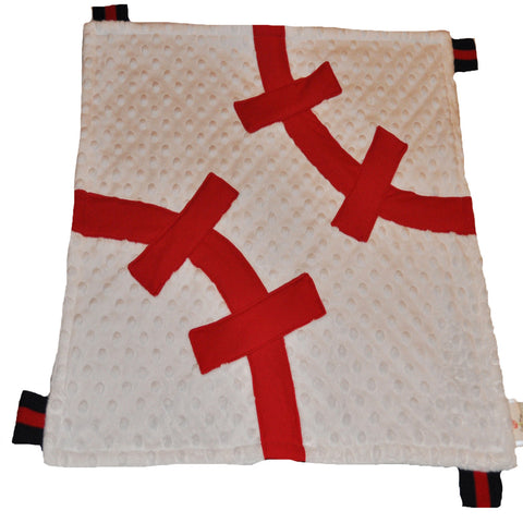 Baseball Baby Security Blanket