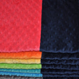 Signature Minky Baby Blanket Navy Combination