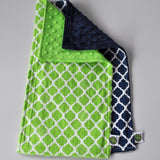 Quatrefoil Burp Cloth