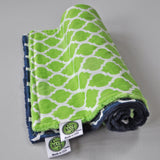 Quatrefoil Lattice Burp Cloth Set