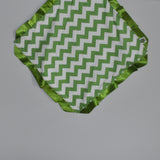 Green Chevron Security Blanket