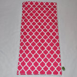 Pink moroccan lattice