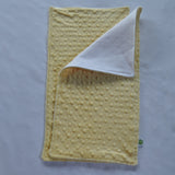 Light Yellow Minky Burp Cloth