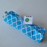 Moroccan Lattice Burp Cloth Gift Set