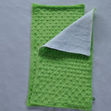 Lime Green Minky Burp Cloth