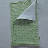 Sage Green Minky Burp Cloth
