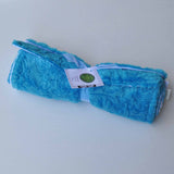 Paisley Burp Cloth Turquoise 2 Pack